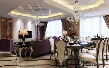 餐厅新古典风格效果图
