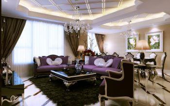 新古典风格150平米4房1厅房子装饰效果图