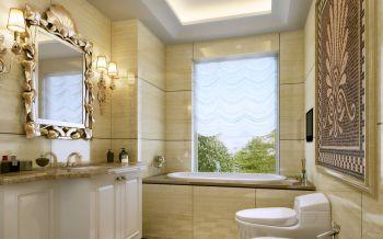 卫生间新古典风格装潢效果图