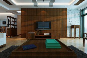 简中式风格110平米3房1厅房子装饰效果图