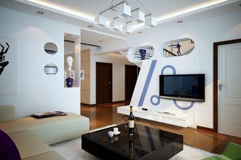 简约风格150平米复制新房装修效果图