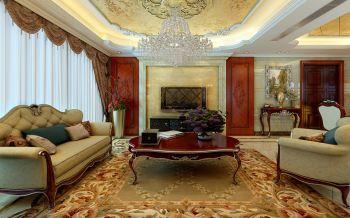 欧式风格180平米大户型房子装饰效果图