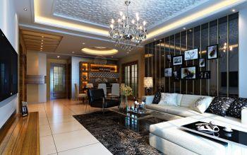欧式风格150平米4房1厅房子装饰效果图