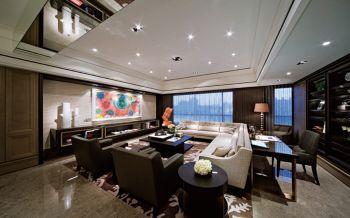 客厅后现代风格装修效果图