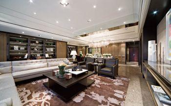 后现代风格120平米四室一厅新房装修效果图
