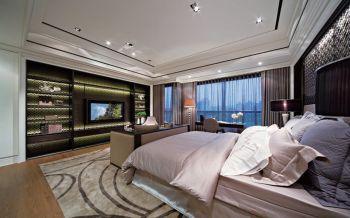 卧室后现代风格装潢效果图