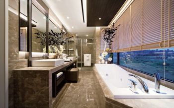 卫生间后现代风格装修图片