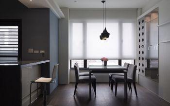 餐厅灯具现代简约风格装潢图片