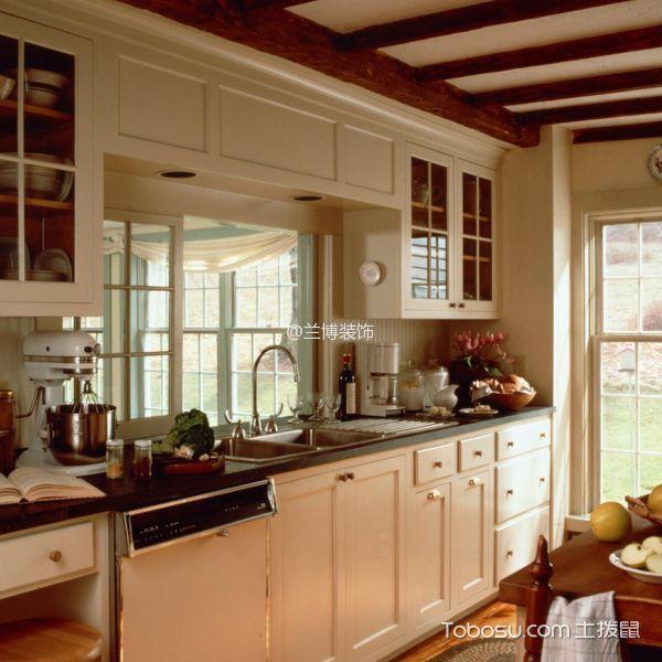 厨房_中式古典风格120平米3房1厅房子装饰效果图