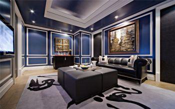 后现代风格140平米3房1厅房子装饰效果图