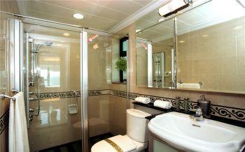 卫生间推拉门现代简约风格装修图片