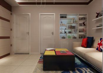 客厅推拉门简约风格装修效果图