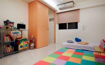 儿童房地板砖简约风格装潢图片