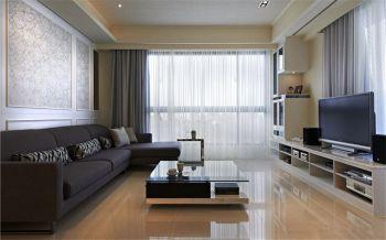 现代风格90平米2房1厅房子装饰效果图