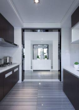 厨房白色吊顶现代简约风格装潢效果图