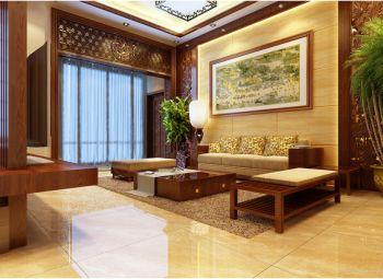 中式风格150平米4房1厅房子装饰效果图