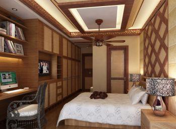 2019东南亚110平米装修图片 2019东南亚三居室装修设计图片