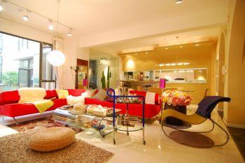 现代简约风格140平米4房1厅房子装饰效果图