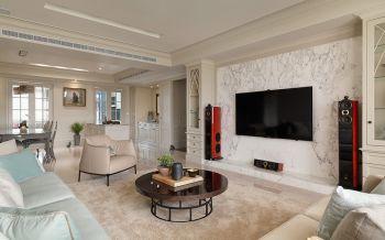 现代欧式风格清新家居装修效果图