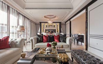 红谷滩现代欧式豪装四居装修效果图