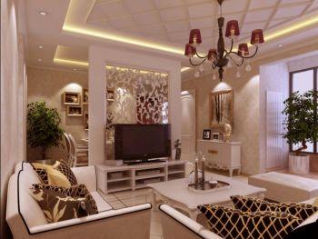 阿奎利亚简欧风格两居室效果图