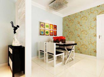 松江运河城洋房标准层A2户型两室两厅现代简约装修图