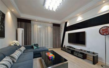 家庭两居室现代简约设计案例图片