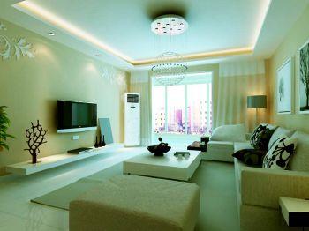 东丽1号两室两厅家居韩式装修效果图