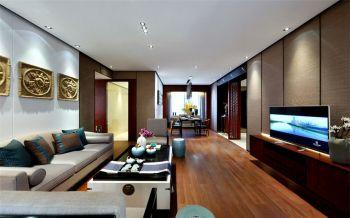 现代中式家具客厅设计图