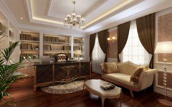 书房吊顶混搭风格装潢设计图片