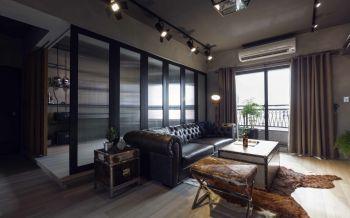 客厅隐形门后现代风格装修效果图
