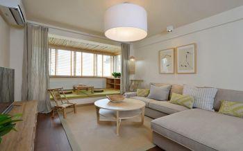 中海国际社区中式混搭风情三居室装修效果图
