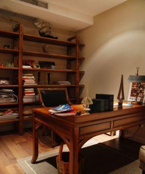 书房欧式风格装潢效果图