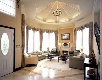 美式风格简单别墅装修效果图