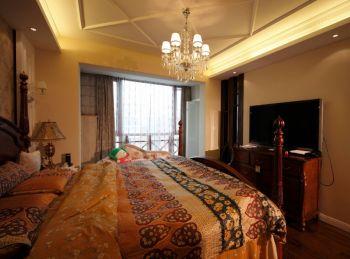 卧室美式风格装修效果图