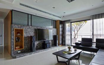 海峡城现代风三居室装修效果图