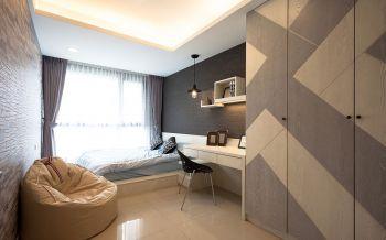 卧室白色榻榻米简约风格装修设计图片