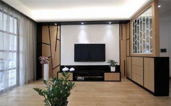 现代韩式混搭风两居装效果图