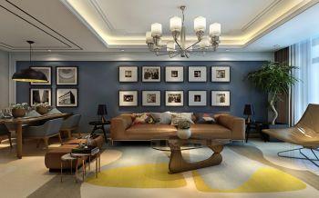现代简约风格混搭舒适家居装修效果图