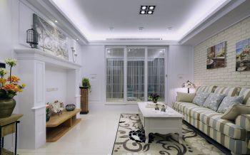 清新欧式风舒适一居装修效果图