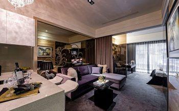 新古典简奢一居室装修效果图