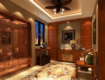门厅东南亚风格装潢设计图片