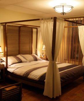 卧室东南亚风格装修图片