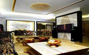 现代欧式混搭豪华家居装修效果图