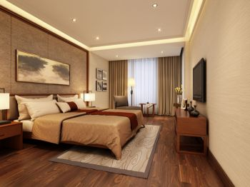 卧室中式风格装潢设计图片