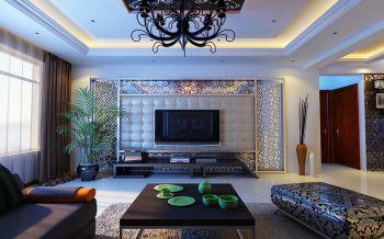 现代欧式风格跃层家居装修效果图