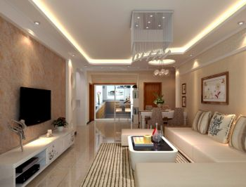 三室两厅家居现代简约装修效果图