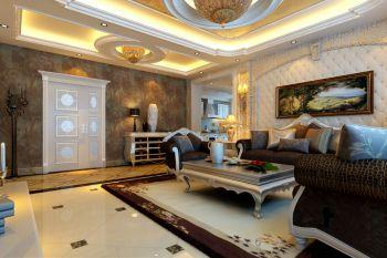 客厅欧式风格装修图片