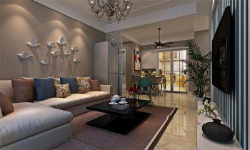 华裕家园现代简约混搭风格设计效果图