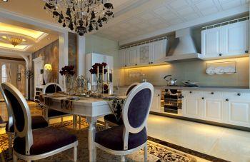 厨房欧式风格装潢设计图片
